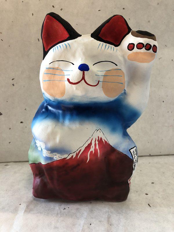 新作 浮世絵招き猫