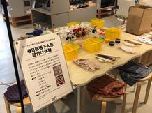 招き猫の絵付ワークショップ開催中 IN 銀座ロフト