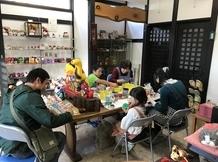 11月17日絵付体験教室が開催されました。