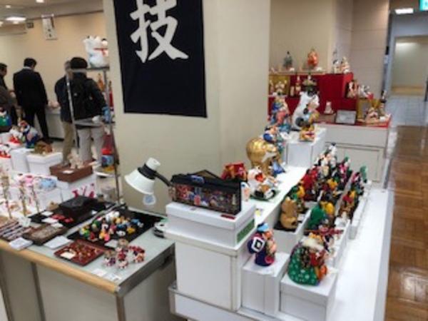三越百貨店 日本橋本店 日本の職人「匠の技」展に出展中です。
