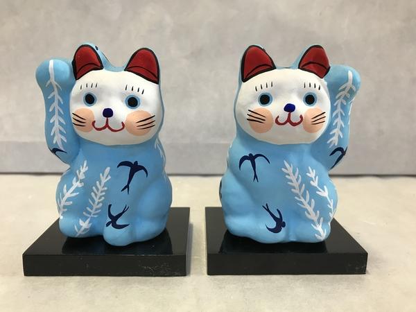 8号サイズ和柄招き猫更新しました。