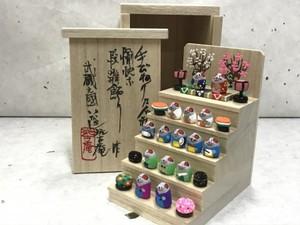 ミニミニ雛段飾り 子バージョン
