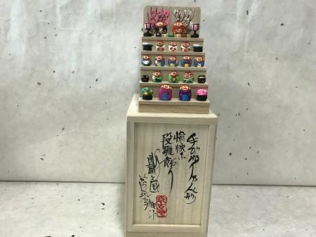 ミニミニ雛段飾り 亥バージョン