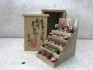 ミニミニ雛段飾り 狸バージョン