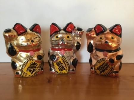 銀箔猫 6号