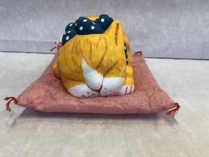 眠り猫・大 縞猫黄