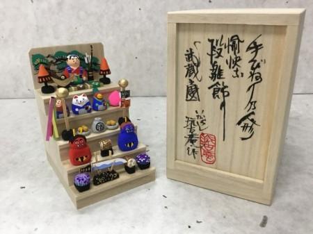 ミニミニ五月人形雛段  桃太郎バージョン