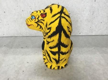 暁斎の虎 座虎
