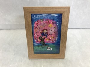 肉筆絵画 「花咲か爺さん」