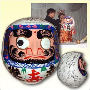 寿達磨 結婚式用