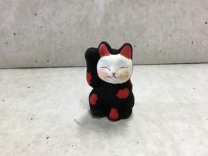 8号サイズ  和柄招き猫 「瓢箪」
