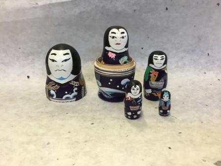 マトリョーシカ 白波五人男 歌舞伎