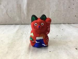 8号サイズ 和柄招き猫「富士山」
