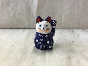 8号サイズ 和柄招き猫「松竹梅」